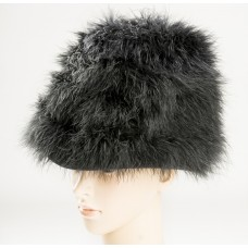 Black London Fur Hat