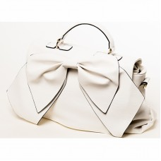 White handbag with Bow