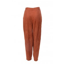 Suede Pants Tan/Brown