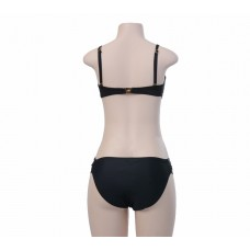 Black Gold Trim 2pc Swimsuit